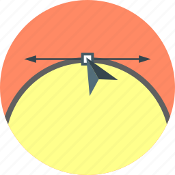 arrows, connection, creative, design, direction, graphic, node icon