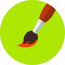 art, brush, design, drawing, paint, painting, printer icon
