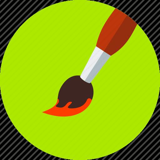art, brush, design, drawing, paint, painting, printer icon