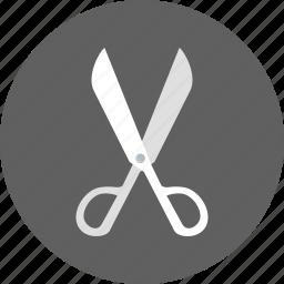 creative, cut, cutter, cutting, design, equipment, scissors icon