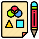 artist, computer, creativity, file, office, professional, technology icon