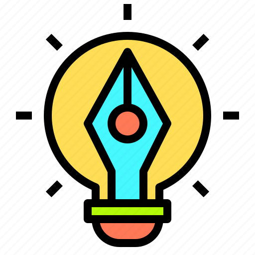 artist, computer, creativity, idea, office, professional, technology icon