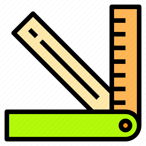 artist, computer, creativity, office, professional, ruler, technology icon