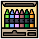 art, crayon, design, drawing, paint, pen, tools icon