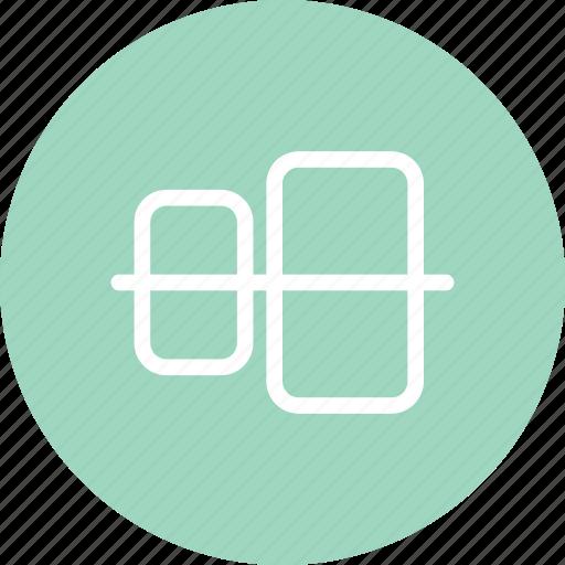 align, align design, alignment, vertical align icon