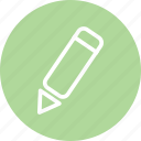draw, paint, pen, pencil, pencil icon, pencil sign, write icon