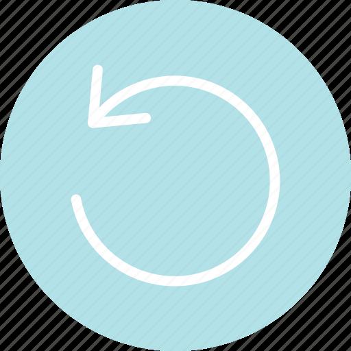 rotate, rotate design, rotate icon, rotate sign, undo, undo sign icon