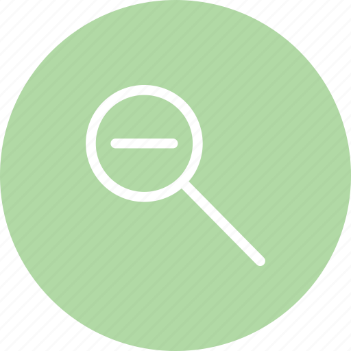 lookup, zoom, zoomout, zoomout icon icon