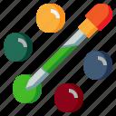 art, color, design, dosage, dropper, graphic, tool icon