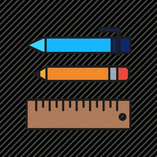 design, graphic, pen, pencil, ruler icon