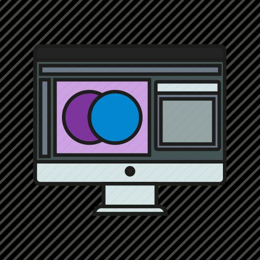 design, graphic, ui, ux, web, web design icon icon