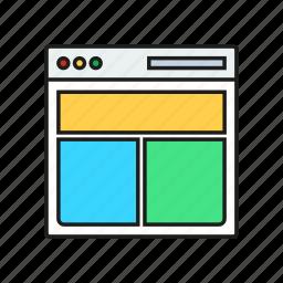 design, graphic, page, screen icon
