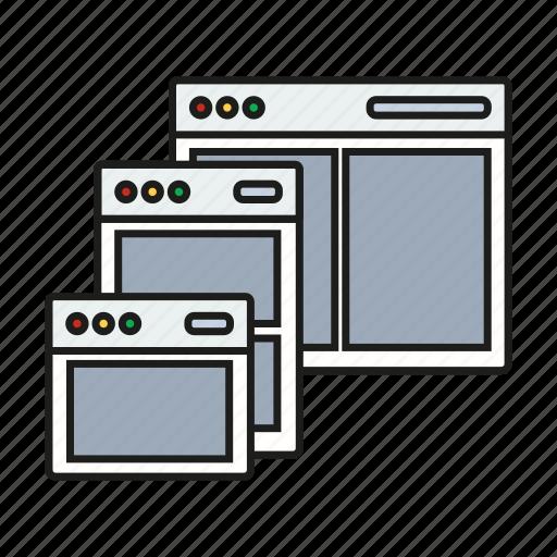 design, graphic, resize, responsive icon
