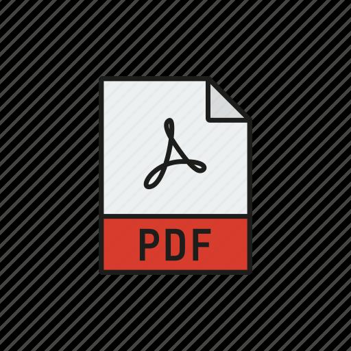 design, file, graphic, pdf, read icon