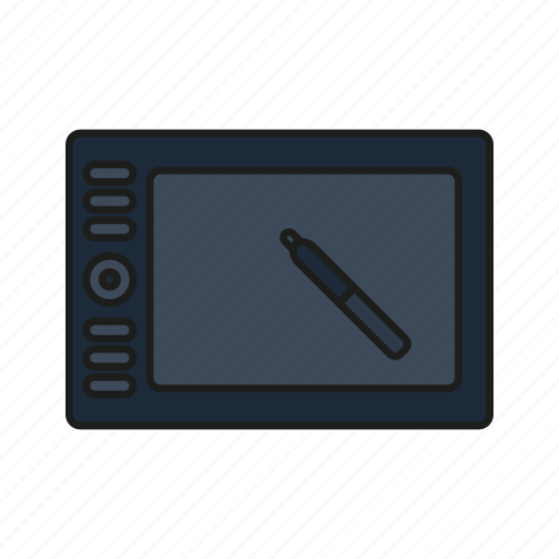 design, graphic, graphic tablet, streamline, tablet icon icon