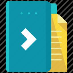 design, document, folder, graphic, paper, tool icon