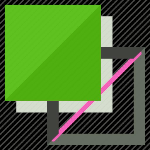 design, fill, graphic, square, stroke, tool icon