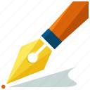 design, graphic, pen, sign, tool, write icon