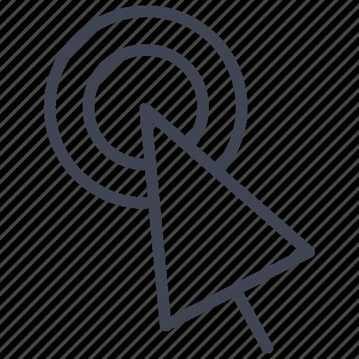 click, cursor, design, graphic, mouse, pointer, tools icon