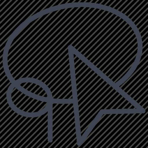 cursor, design, graphic, lasso, pointer, tool, tools icon