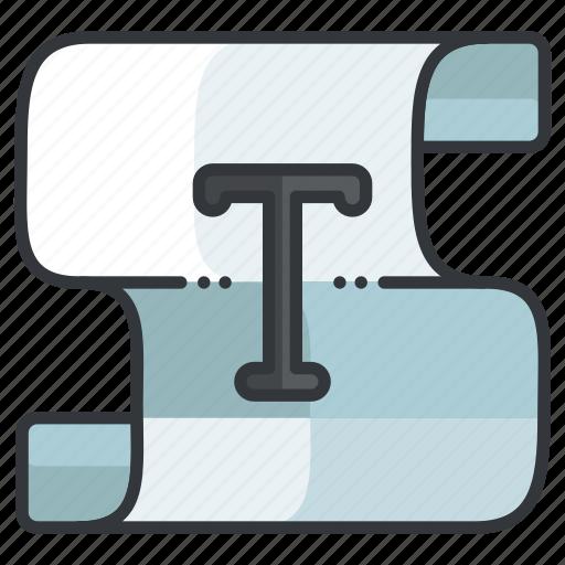 area, creative, design, graphic, tools, type icon