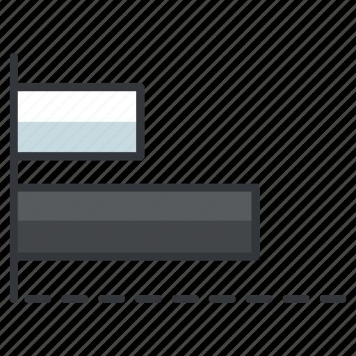bar, creative, design, graph, graphic, tools icon