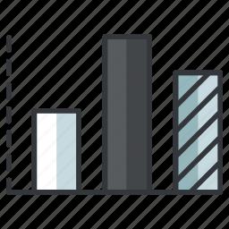 column, creative, design, graph, graphic, tools icon
