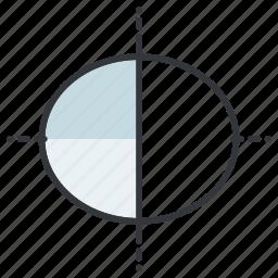 creative, design, eclipse, graphic, tools icon