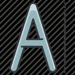 creative, design, font, graphic, tools icon