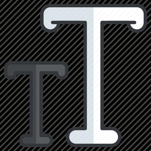 creative, design, font, graphic, sizing, tools icon