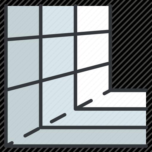 creative, design, graphic, grid, perspective, tools icon