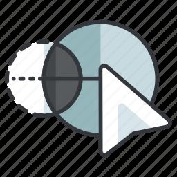builder, creative, design, graphic, shape, tools icon