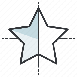 creative, design, graphic, star, tool, tools icon