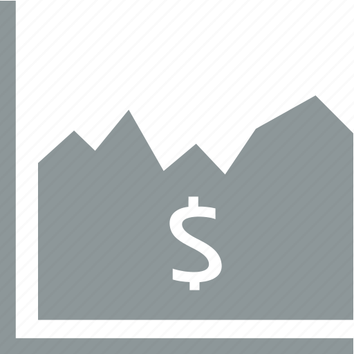 business, chart, diagram, dollar icon