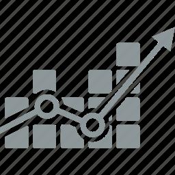 arrow, chart, diagram, up icon
