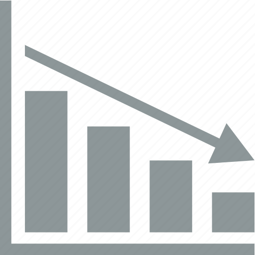 analytics, arrow, chart, diagram icon