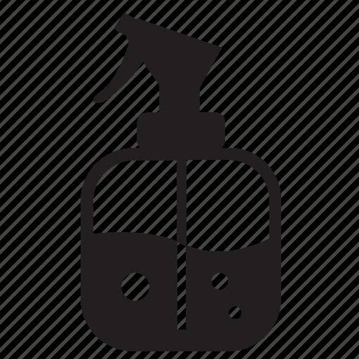 bottle, cleaning, garden, gardening, nature, spray icon