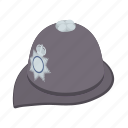 cartoon, clothes, country, english, headdress, police, traditional icon