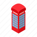 box, cartoon, figures, red, sound, telephone, tube icon