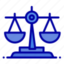 balance, ireland, law icon