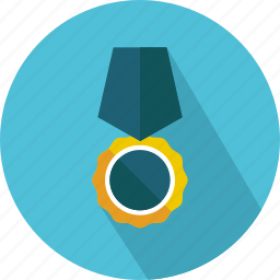 award, badge, emblem, insignia, medal, reward icon