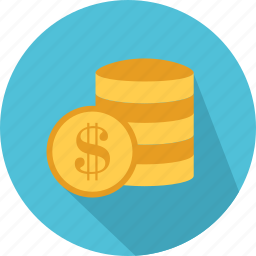 bank, business, currency, dollar, exchange, money, shopping icon