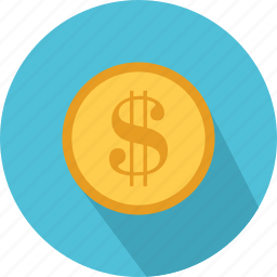 bank, currency, dollar, exchange, finance, money, shopping icon