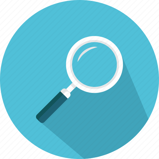 education, glass, magnifying, research, search, study, zoom icon