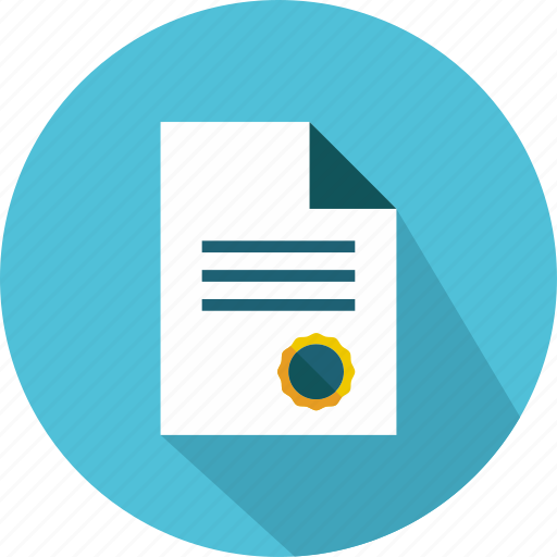 agreement, contract, document, documentation, finance, pencil, signature icon