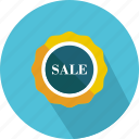 badge, commerce, discount, percentage, signs, star, sticker