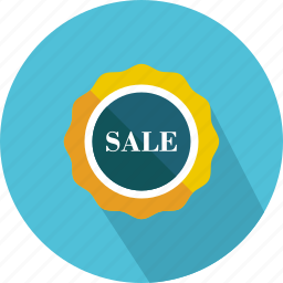 badge, commerce, discount, percentage, signs, star, sticker icon