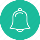 alarm, alert, bell, instrument, music, musical icon