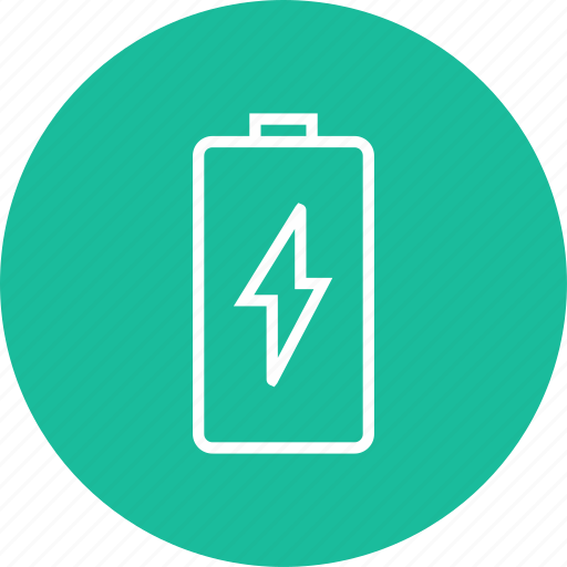 battery, full, status, technology icon