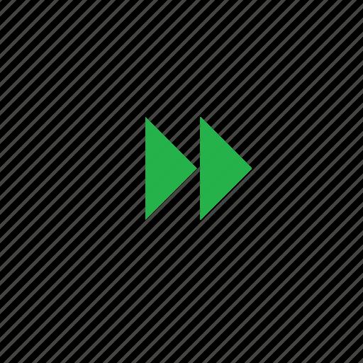 fast forward, forward icon